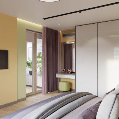 Дизайн квартиры Киев - Дизайн интерьера спальни Киев