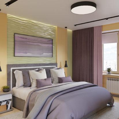 Дизайн квартиры Киев - Дизайн интерьера спальни