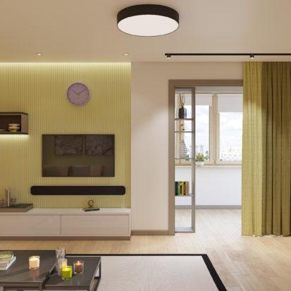 Дизайн квартиры Киев - Дизайн и интерьер гостиной Киев