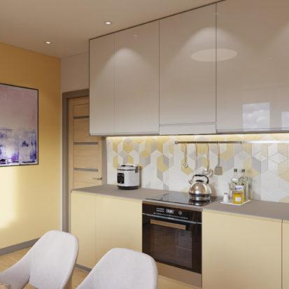 Дизайн квартиры Киев - Дизайн и интерьер кухни Киев