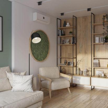 Дизайн квартиры в скандинавском стиле Днепр