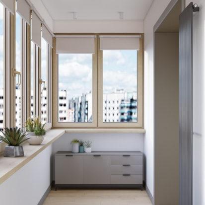 Дизайн квартиры Киев - Дизайн лоджии Киев
