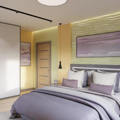 Дизайн квартиры Киев - Дизайн спальни