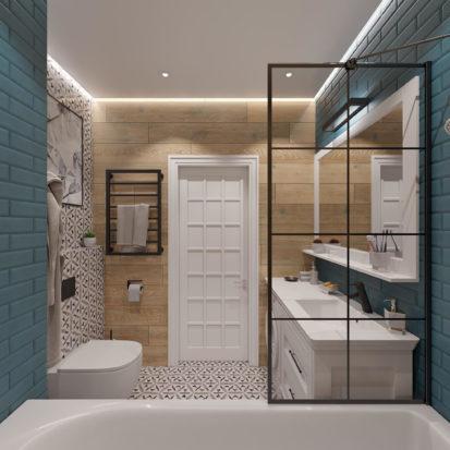 Интерьер ванной Днепр