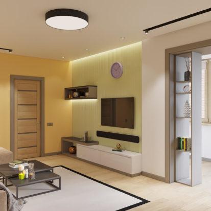 Дизайн квартиры Киев - Интерьер гостиной Киев