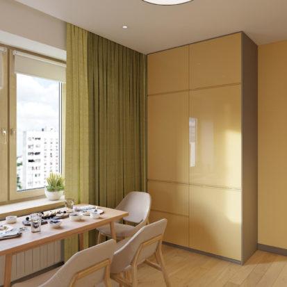 Дизайн квартиры Киев - Интерьер кухни