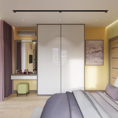 Дизайн квартиры Киев - Интерьер спальни Киев