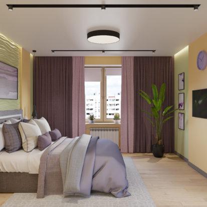 Дизайн квартиры Киев - Интерьер спальни