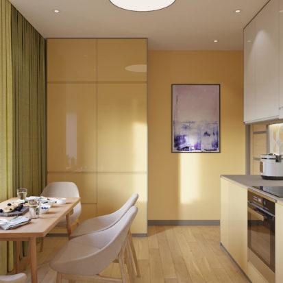 Дизайн квартиры Киев - Кухня дизайн интерьера Киев