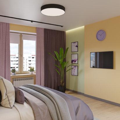 Дизайн квартиры Киев - спальня