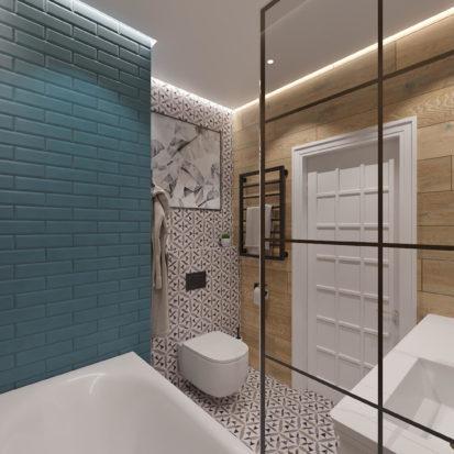 дизайн интерьера ванной Днепр