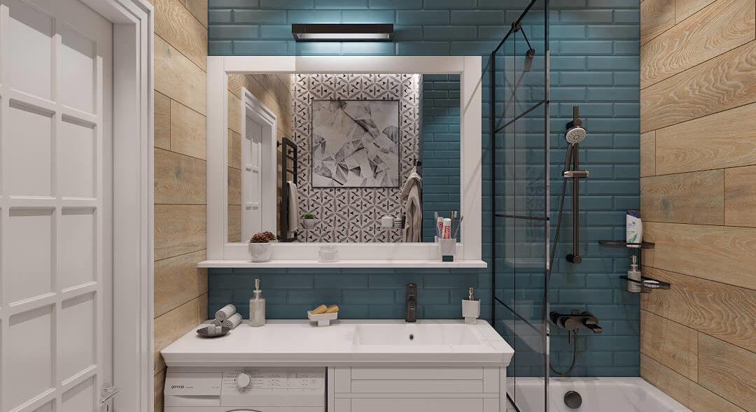 дизайн интерьера Днепр ванная