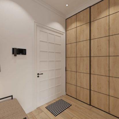 дизайн проект квартиры прихожая Днепр