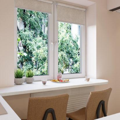 Дизайн интерьера кухня в двухкомнатной квартире