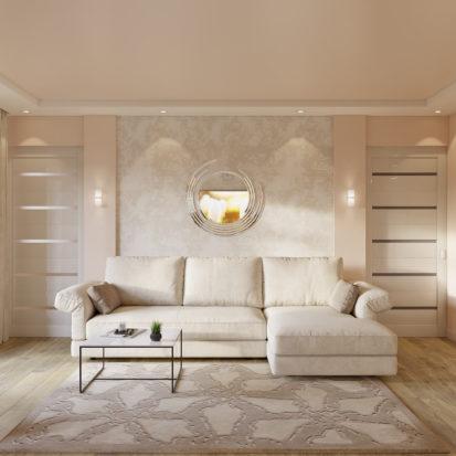 Дизайн интерьера 2х комнатной квартиры