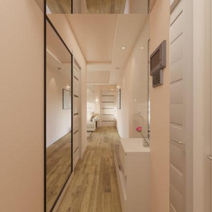 Дизайн прихожей в 2х комнатной квартире Днепр