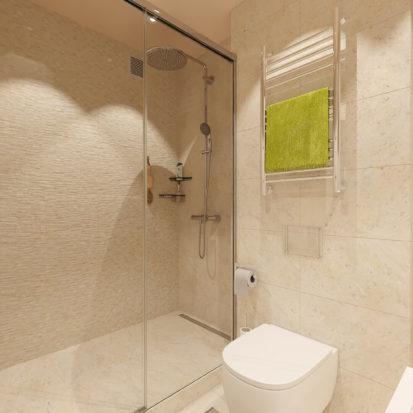 Дизайн сан узла в 2х комнатной квартире