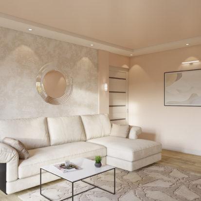 Дизайн 2х комнатной квартиры Гостиная