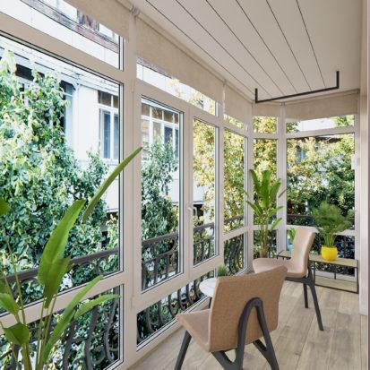 Дизайн 2х комнатной квартиры Днепр балкон