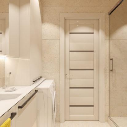 Дизайн 2х комнатной квартиры Днепр ванная