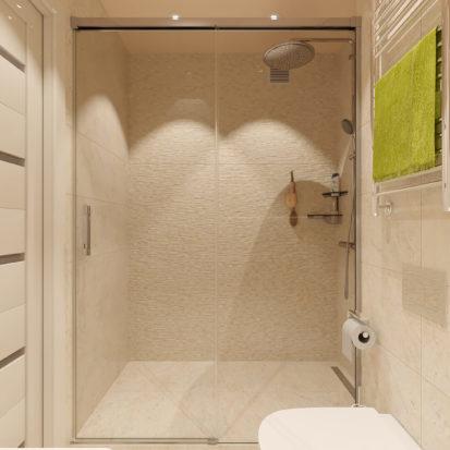Дизайн 2х комнатной квартиры Сан узел