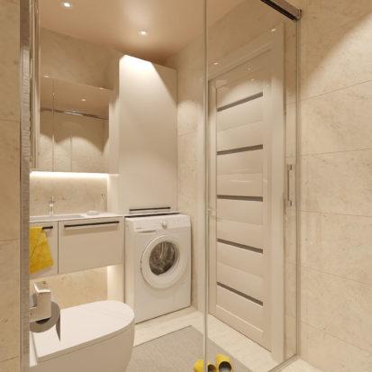 Дизайн 2х комнатной квартиры ванная