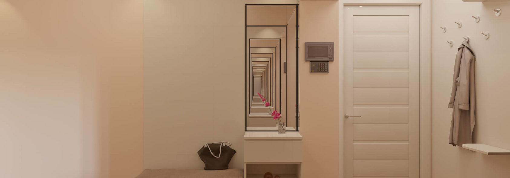 Дизайн 2х комнатной квартиры прихожая