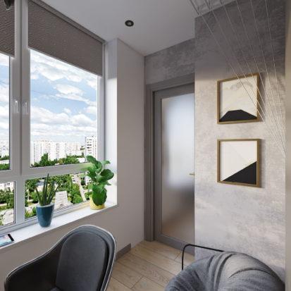 Дизайн балкона в квартире Киев