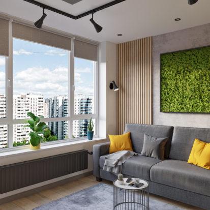 Дизайн гостиной Киев