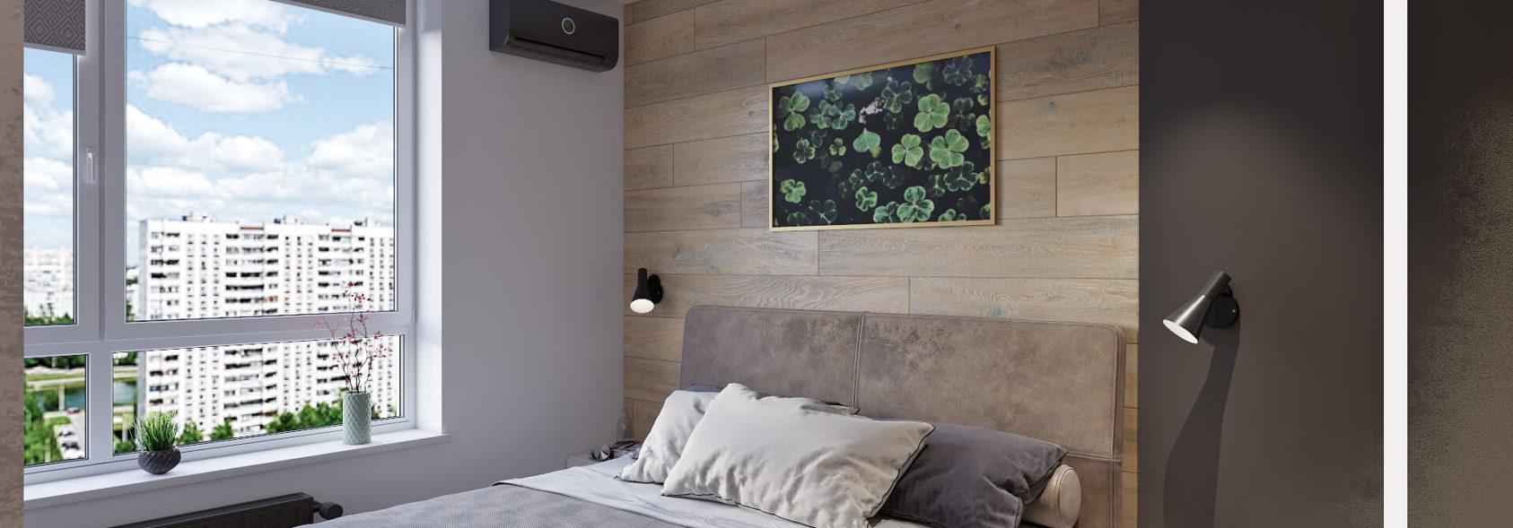 Дизайн интерьера гостевой спальни Киев