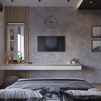 Дизайн интерьера спальни Киев