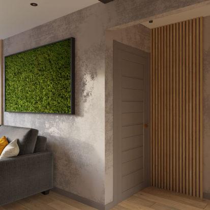 Дизайн интерьера трехкомнатной квартиры Киев