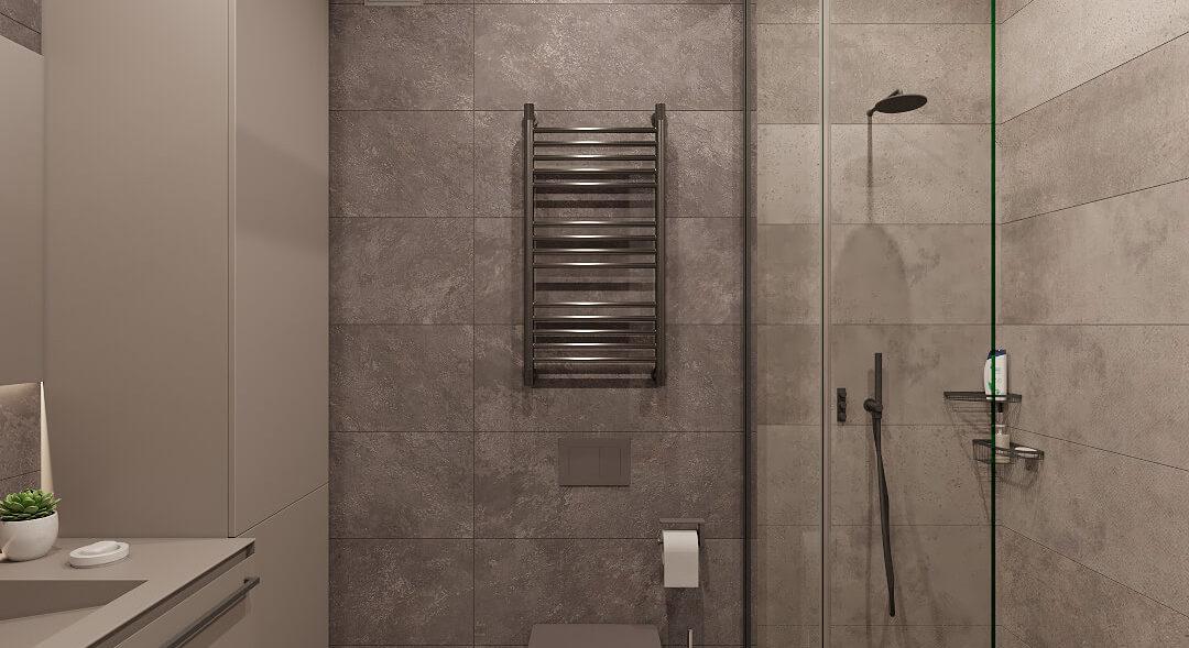 Дизайн трехкомнатной квартиры Киев туалет
