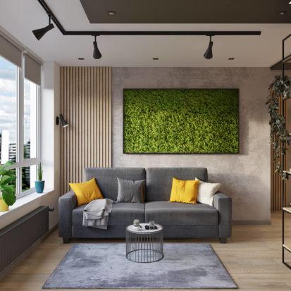 Дизайн трехкомнатной квартиры Киев