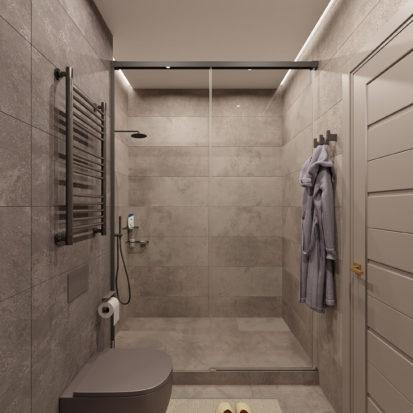 Дизайн трехкомнатной квартиры киев ванная