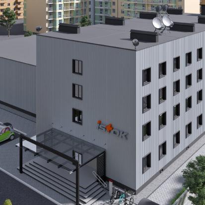 Дизайн экстерьера офиса фармацевтической компании