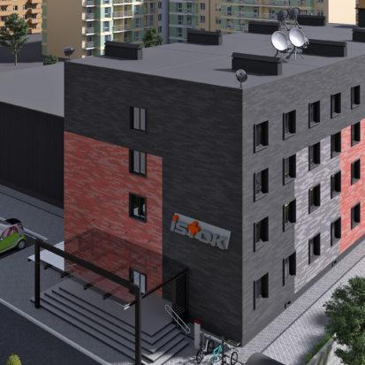Дизайн экстерьера фасадов Запорожье