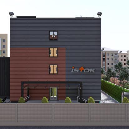 Реконструкция фасадов офисного комплекса