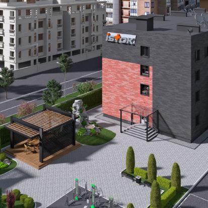 Экстерьер офиса Харьков