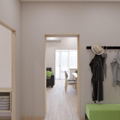 Гостиная дизайн 3х комнатной квартиры Запорожье