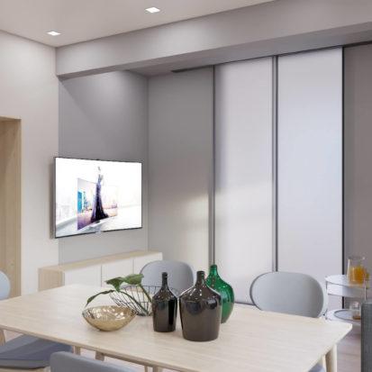 Дизайн интерьера гостиной в 3х комнатной квартире