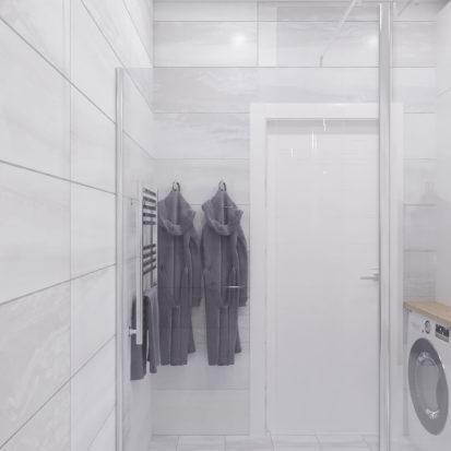 Дизайн 3х комнатной квартиры Запорожье ванная