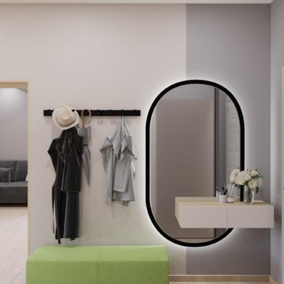 Дизайн 3х комнатной квартиры Запорожье прихожая