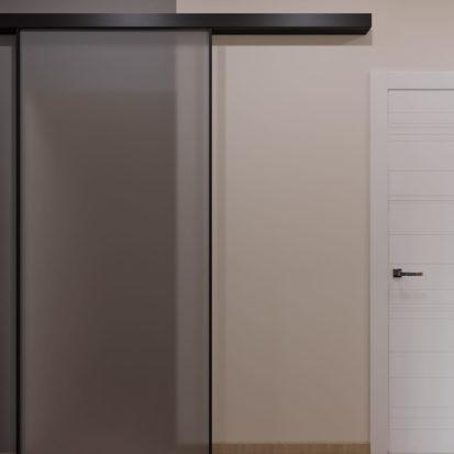 Проект прихожая 3х комнатная квартиры Запорожье