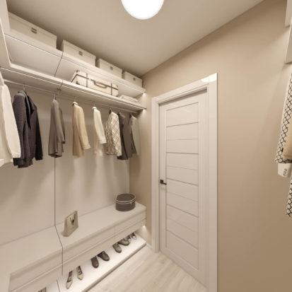 Дизайн гардеробной Киев