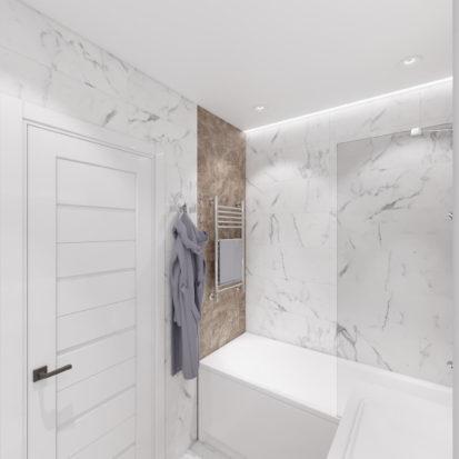 Дизайн интерьера ванной комнаты Киев