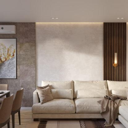 Дизайн интерьера гостиной Киев