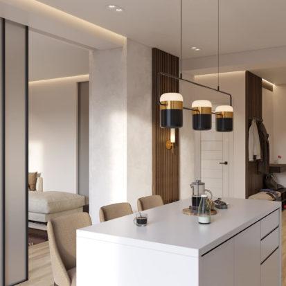 Дизайн интерьера кухни Киев