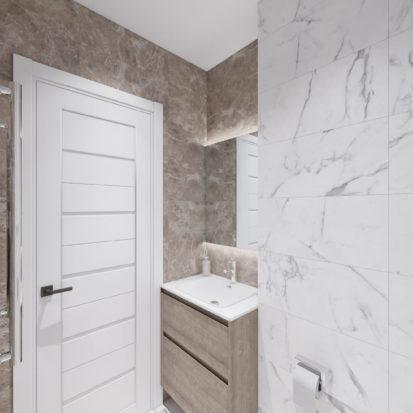 Дизайн интерьера туалета Киев