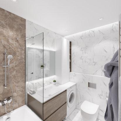 Дизайн квартиры Киев ванная